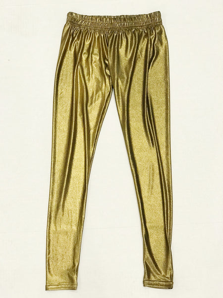 HA Metallic Leggings - Gold