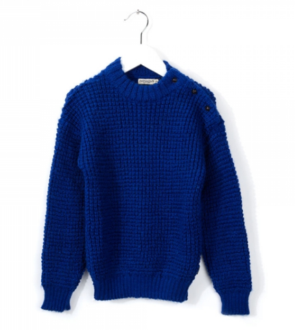 Imps and Elfs Cobalt Sweater