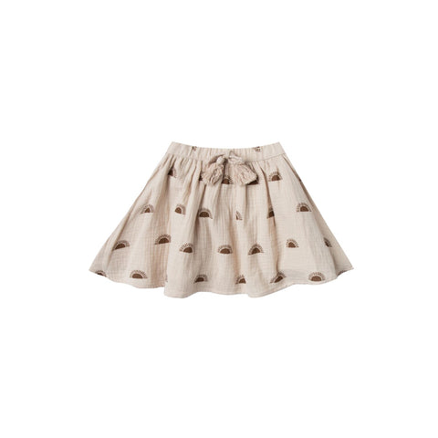 R&C Sunset Mini Skirt  Pearl