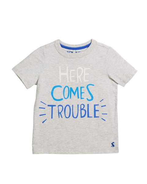 Joules Tee Here Comes Trouble