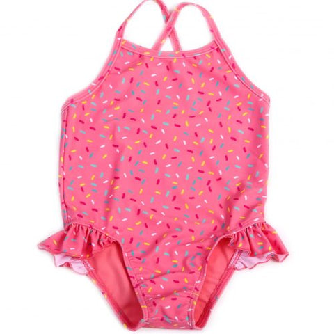 Egg Leah One Piece Coral Sprinkles