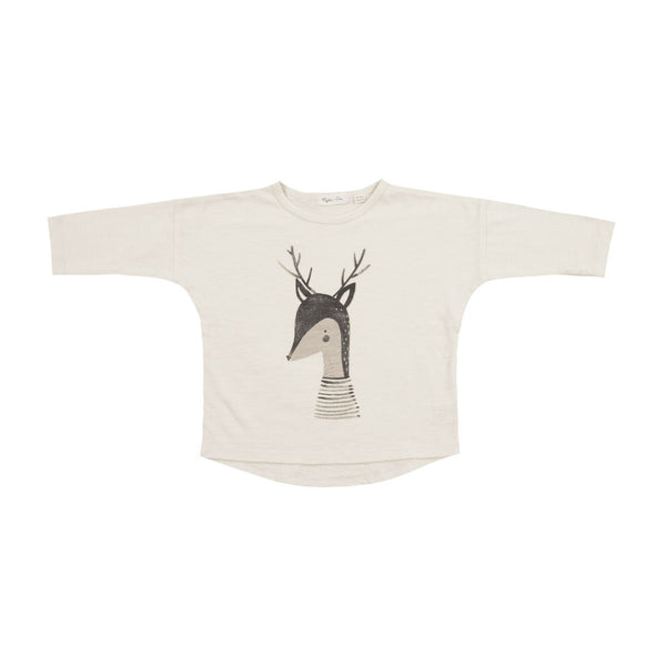 Rylee and Cru Deer Longsleeve Cream