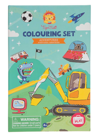 Schylling Adventures Coloring Set