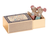 Maileg Baby Twins, Mice in Box