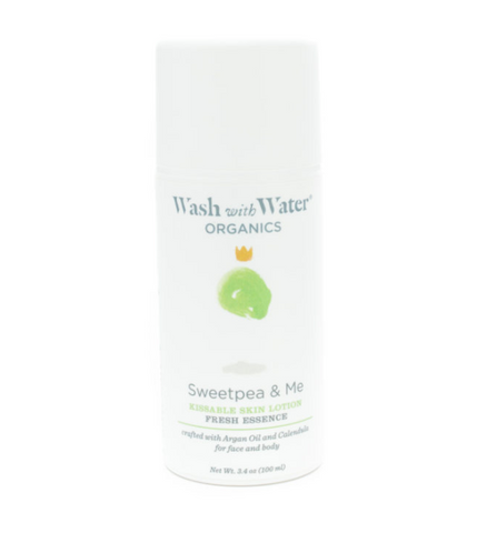 Wash with Water Sweetpea lotion pump