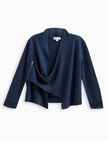 Splendid Sweater Wrap Navy