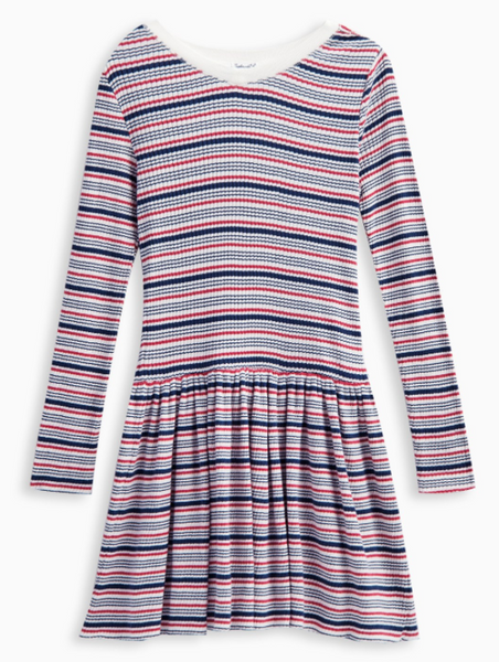 Splendid Stripe Rid Sweater Dress Stripe