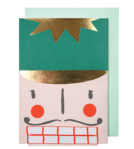 Mer Meri Nutcracker Head Card