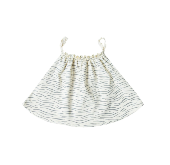 Rylee and Cru Ocean Baby Swing Top Ivory