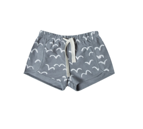 Rylee and Cru Flock Taylor Short Stormy Blue