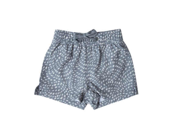 Rylee and Cru Dash Waves Swim Trunk Stormy Blue