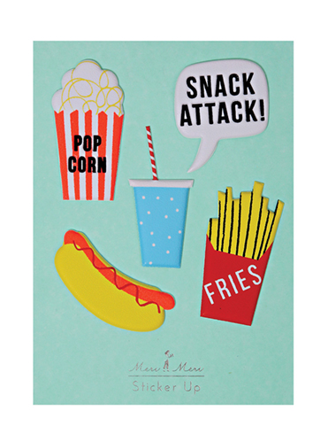 Meri Meri Snack Attack Stickers