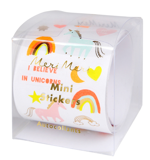 Meri Meri Mini Stickers Unicorn Sticker Roll