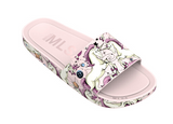 Mini Melissa Beach Slide Pink Beige