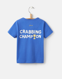Joules Applique T‐Shirt Crab