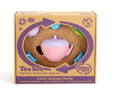 Green Toys Tea Set - Pink