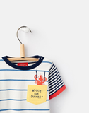 "Joules Baby Marvin Set ""What's for Dinner"""