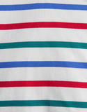 Joules LS Red Green Blue Stripe Shirt