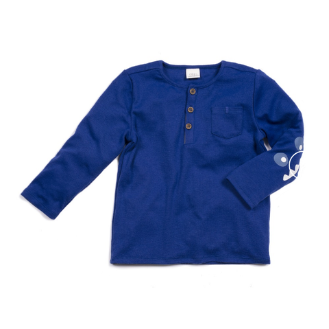 Egg Andrew Top Cobalt