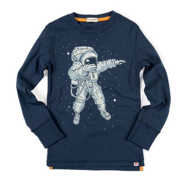 Appaman Graphic Tee Space Dab
