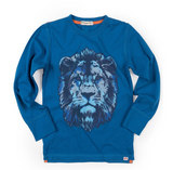 Appaman Graphic Tee Lion Blue