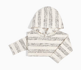 MB Homegrown Hero - Heather Beige - Baby Hooded Long Sleeve