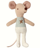Maileg Mouse Little brother in box Star top