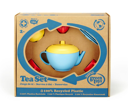 GT Tea Set- Blue