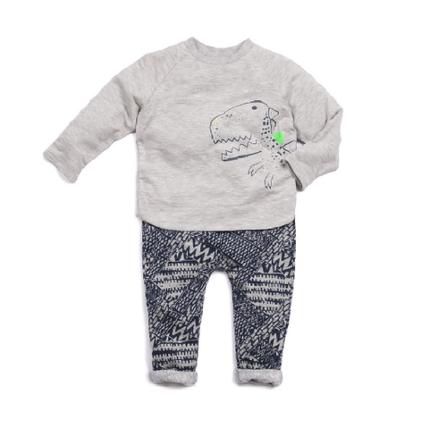 Egg Connor Set Dino Navy