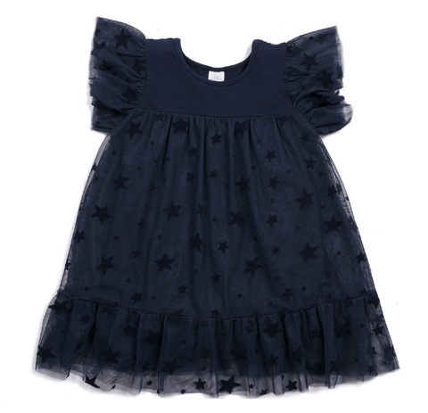 Egg Evelyn Dress Navy
