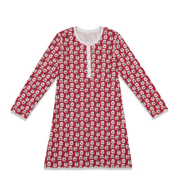 RRR GIRLS BEARRY HOLIDAYS NADINE DRESS