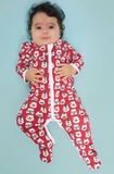 RRR Bearry Holiday Footie PJ