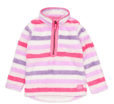 Joules Young Merridie Fleece Multi Stripe