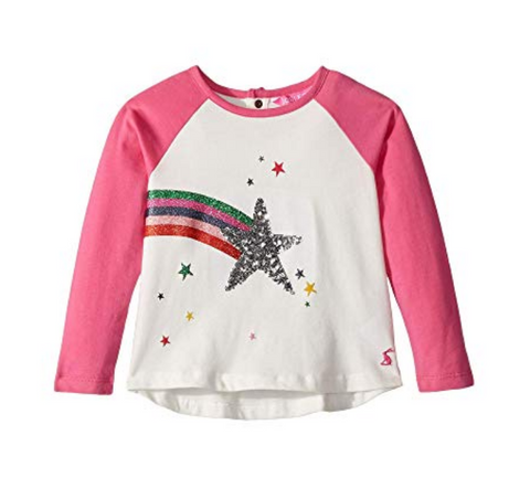 Joules Girls Cotton Lorna Top