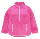 Joules Elena Half Zip Fleece True Pink