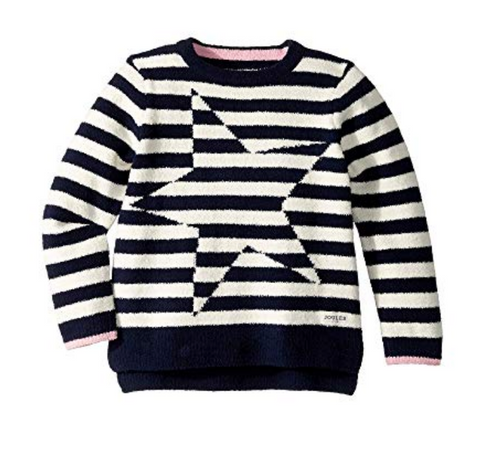 Joules Kids Stripe Artwork Sweater