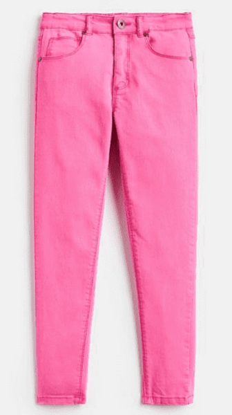 Joules Linnet Cotton-Stretch Jeans Pink