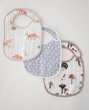 Little Unicorn Classic Cotton Bib 3 Pack