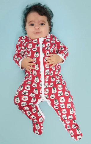 RRR Winterland Holiday Footie PJ