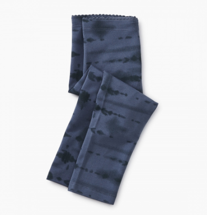 Tea Collection Tie Dye Capri Leggings Indigo