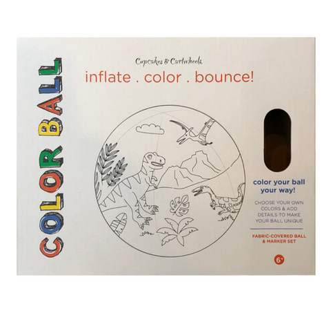 TC Coloring Ball Kit w/ Markers and Pump