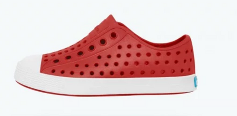 Native Jefferson Torch Red White sole/Shell White