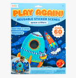 Ooly  Play Again! Reusable Sticker Scenes (assorted)