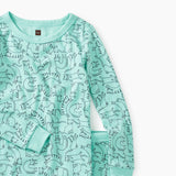 Tea Collection Alley Cats Printed Pajamas