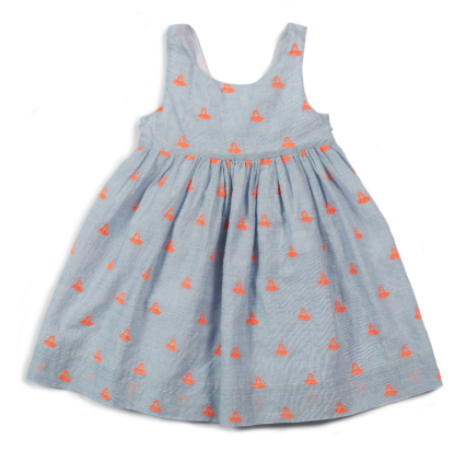 Egg Rowan Dress Denim