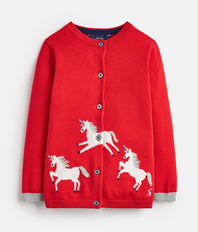 Joules Unicorn Cardigan