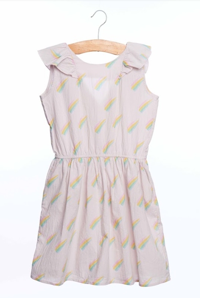 Siaomimi Sadie Dress Blush Rainbow