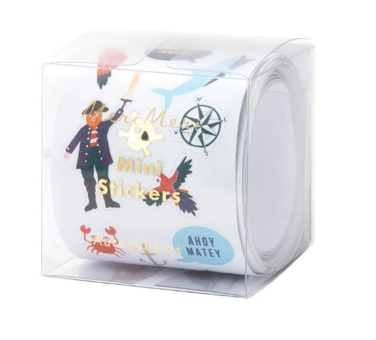 Meri Meri Mini Stickers Pirate Sticker Roll
