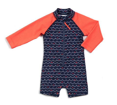 Egg Jessie Shortall Navy with Goldfish and Stars