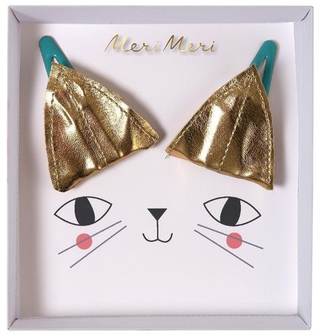 Meri Meri Cat Ear Clips